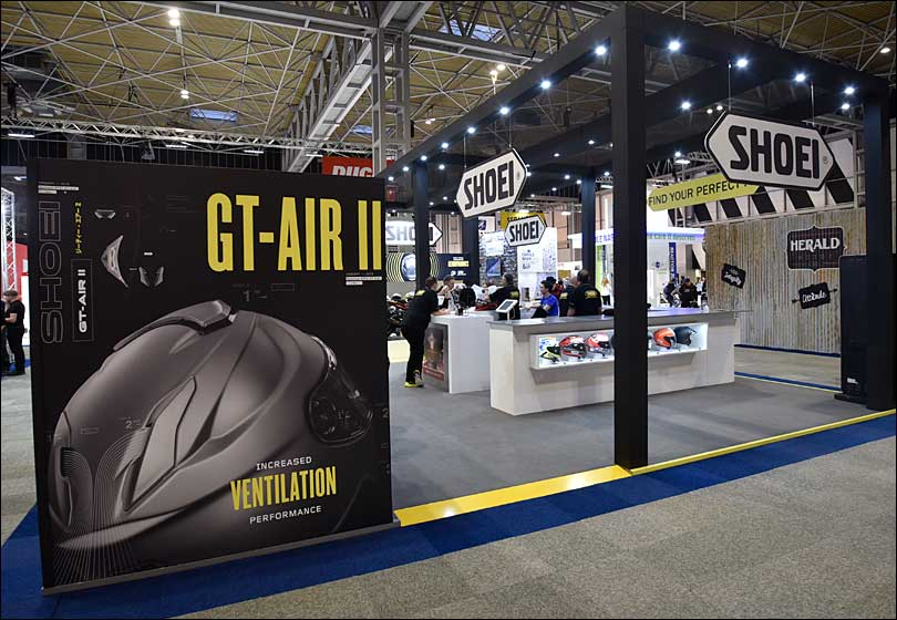 Shoei Exhibition Stand
