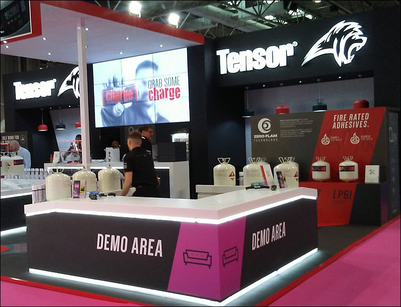 Tensor Exhibition Stand
