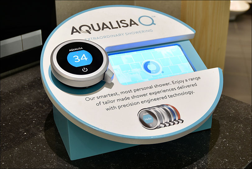 Aqualisa Retail Display by Merit Display