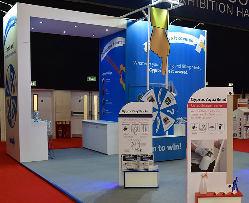 Artex Exhibition Stand by Merit Display