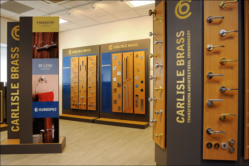 Carlisle Brass Showroom Display