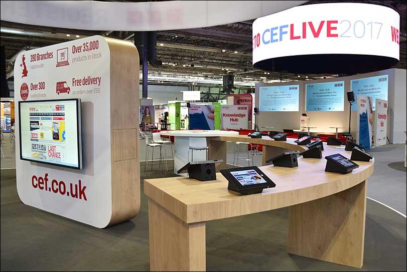 CEF Exhibition Stand