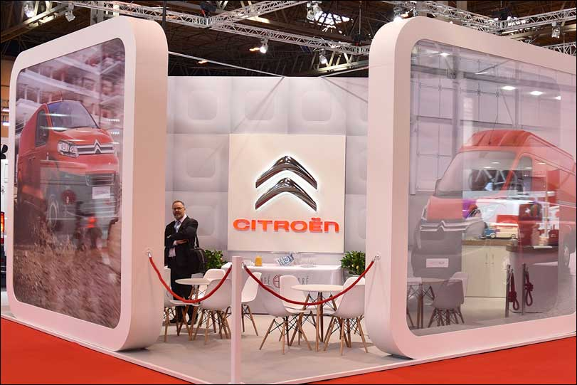 Citroen Exhibition Stand by Merit Display