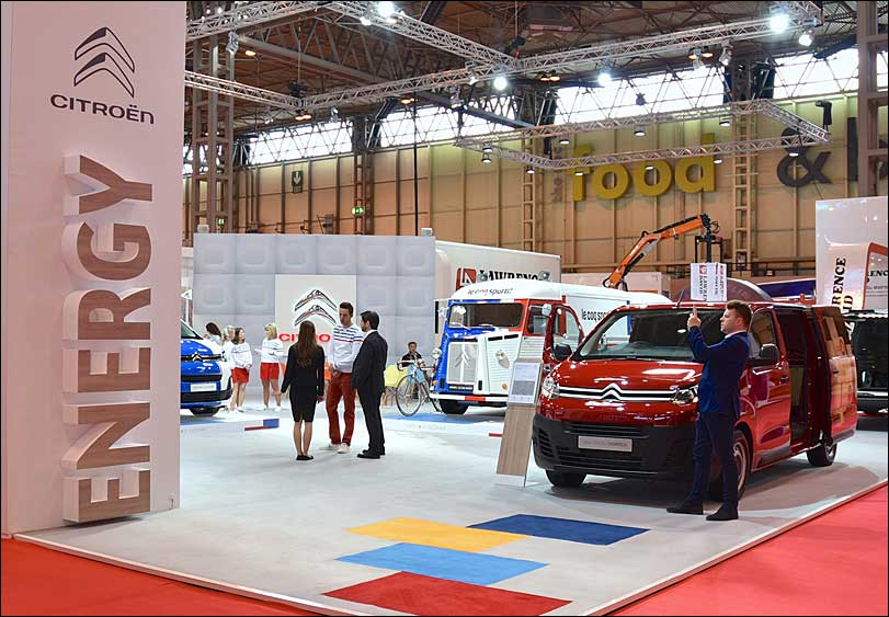 Citroen and Peugeot Exhibition Stand by Merit Display