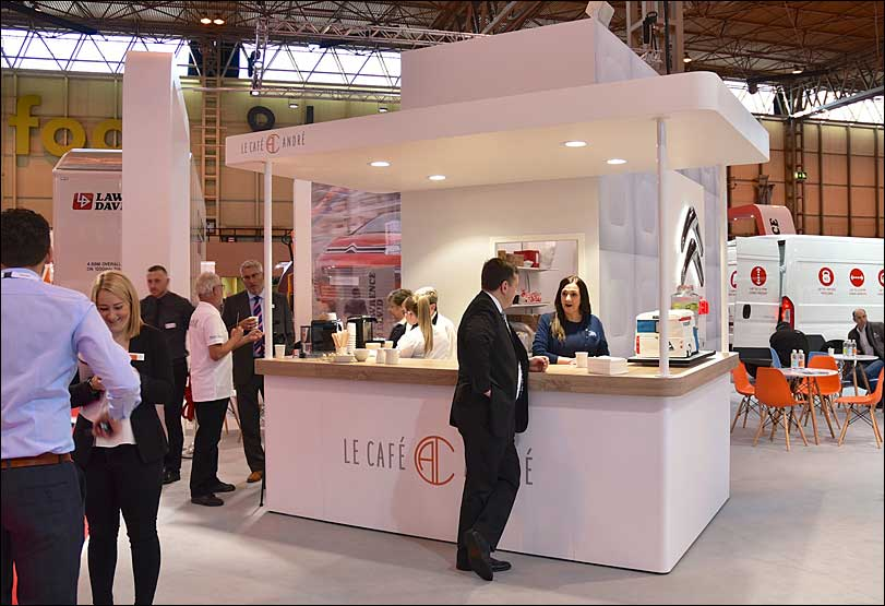Citroen Exhibition Stand, Information Point