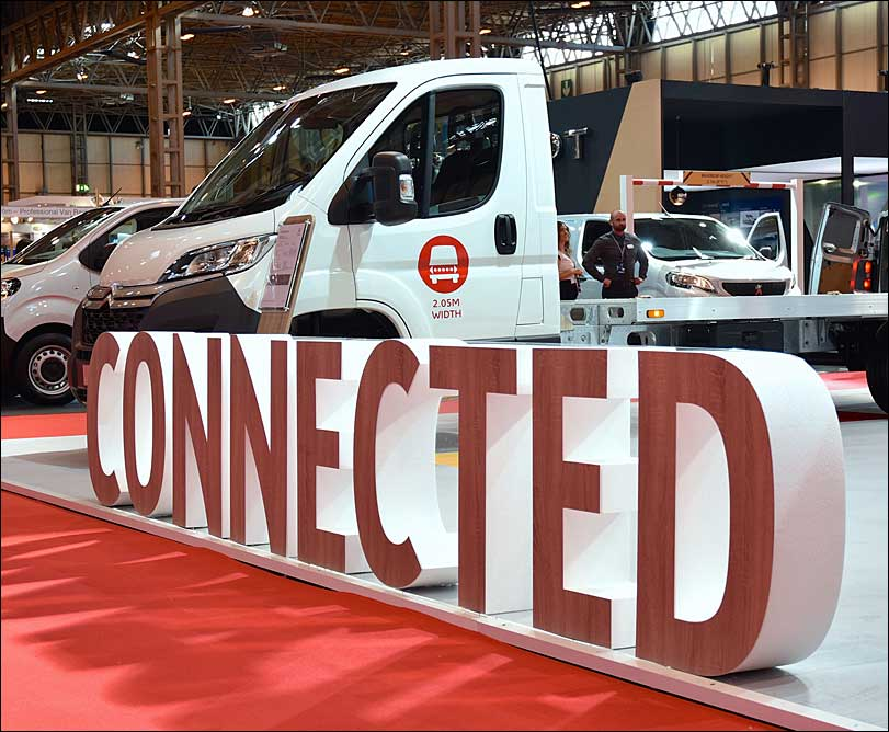 Citroen Exhibition, Connected Signage
