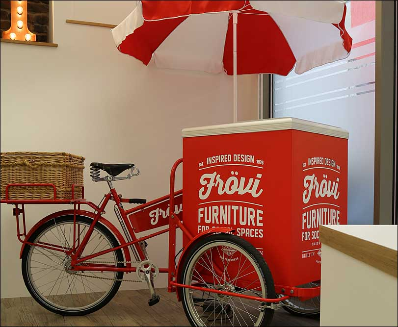 FROVI Retail Space, Ice-cream Tricycle
