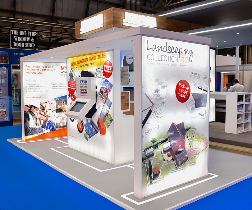 Jewson Exhibition Stand by Merit Display
