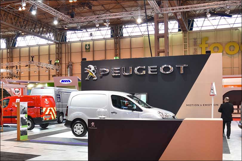 Peugeot Exhibition Stand by Merit Display