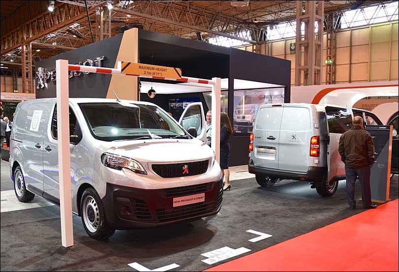 Peugeot Exhibition Stand, Van closeup