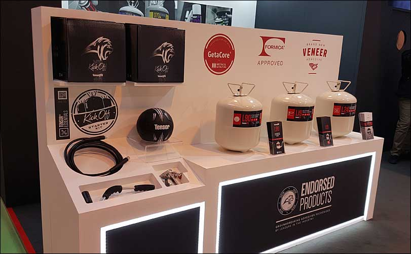 Quin Global, Tensor Exhibition Stand