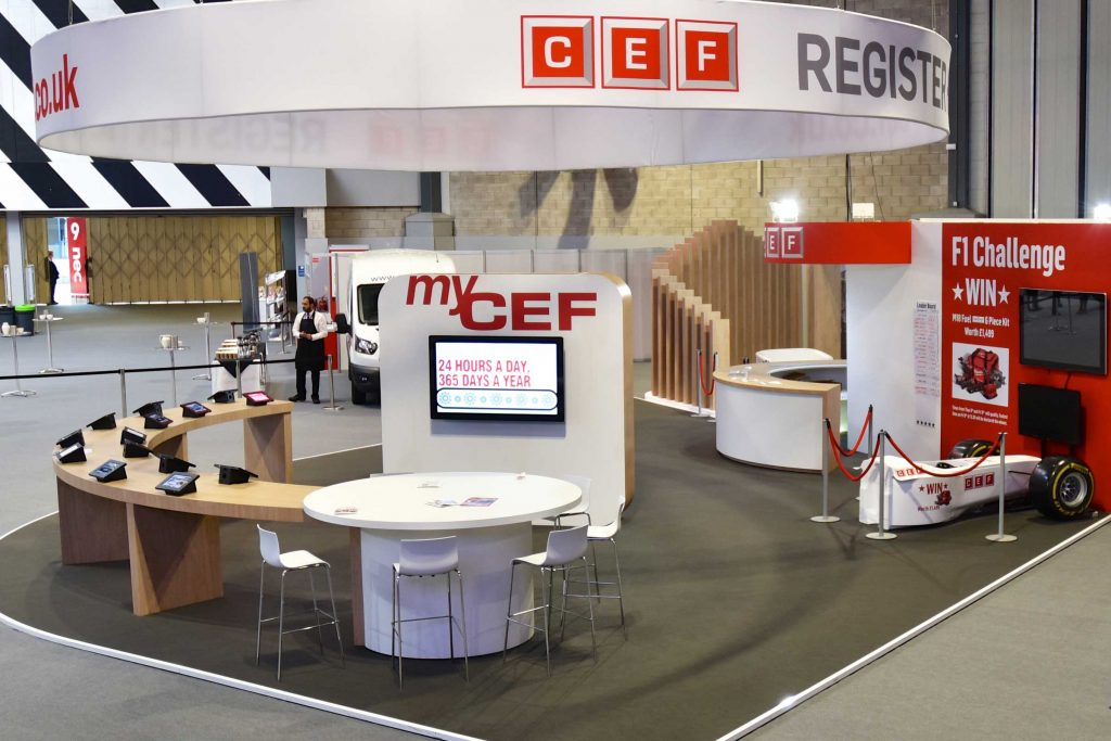 CEF Exhibition Display Stand