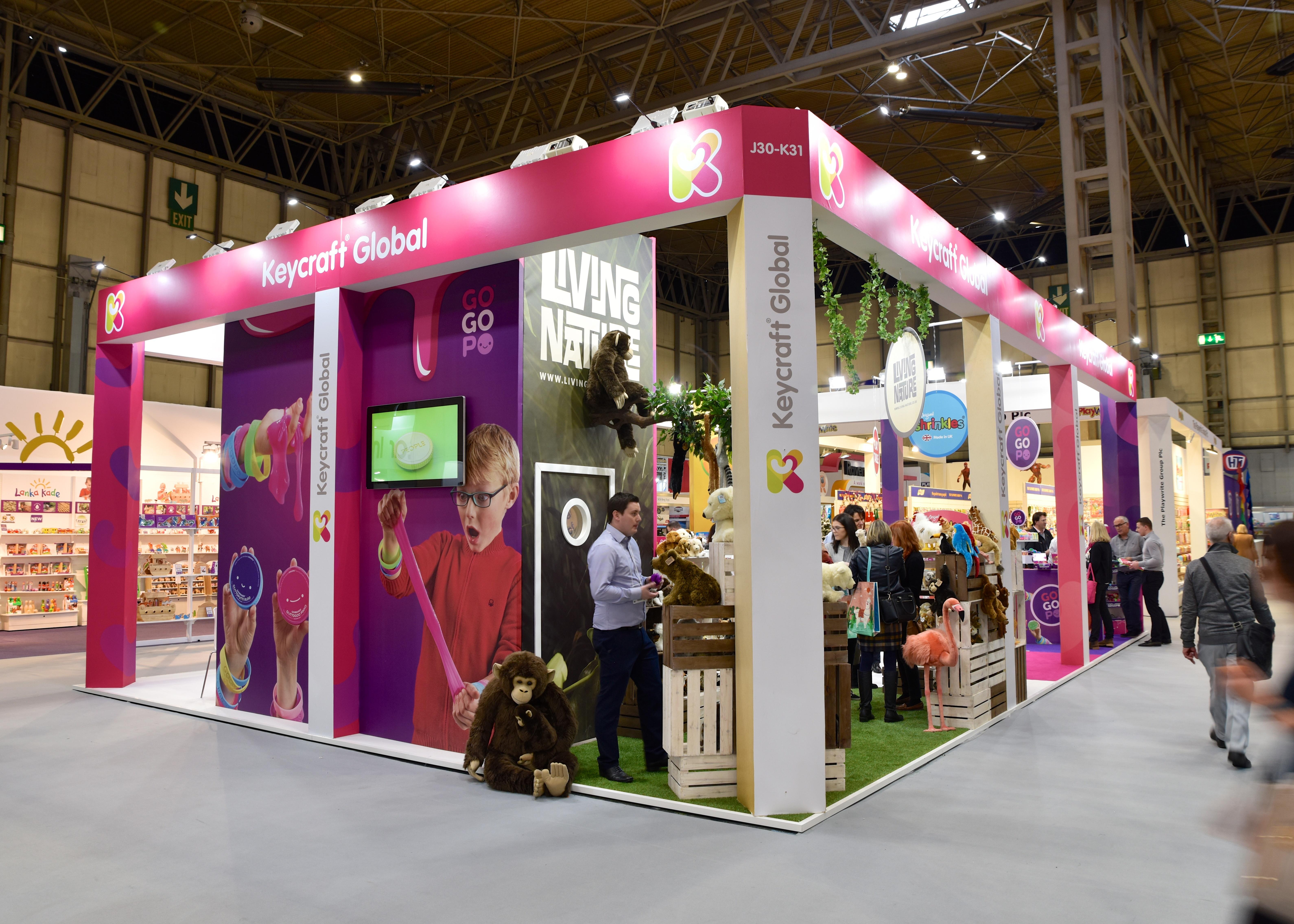 Keycraft Exhibition Stand