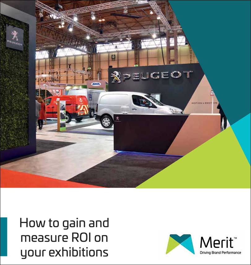 Maximising ROI Exhibitions merit display guide cover
