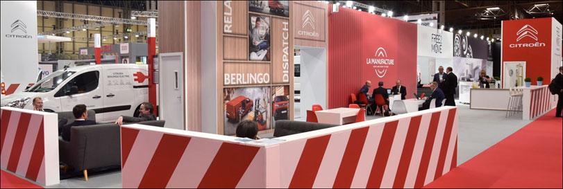 Peugeot Citroen Exhibition Stand