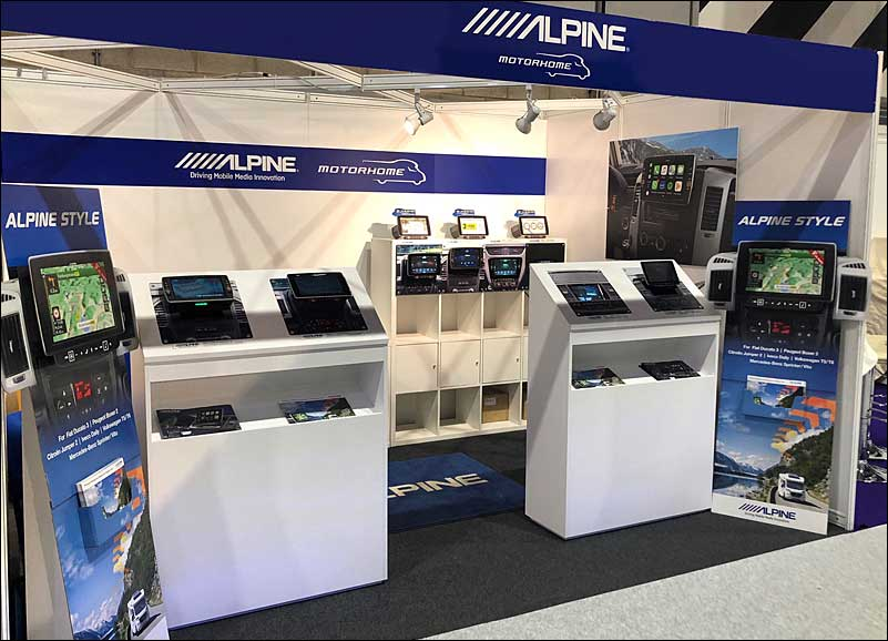 Alpine Style Retail Display