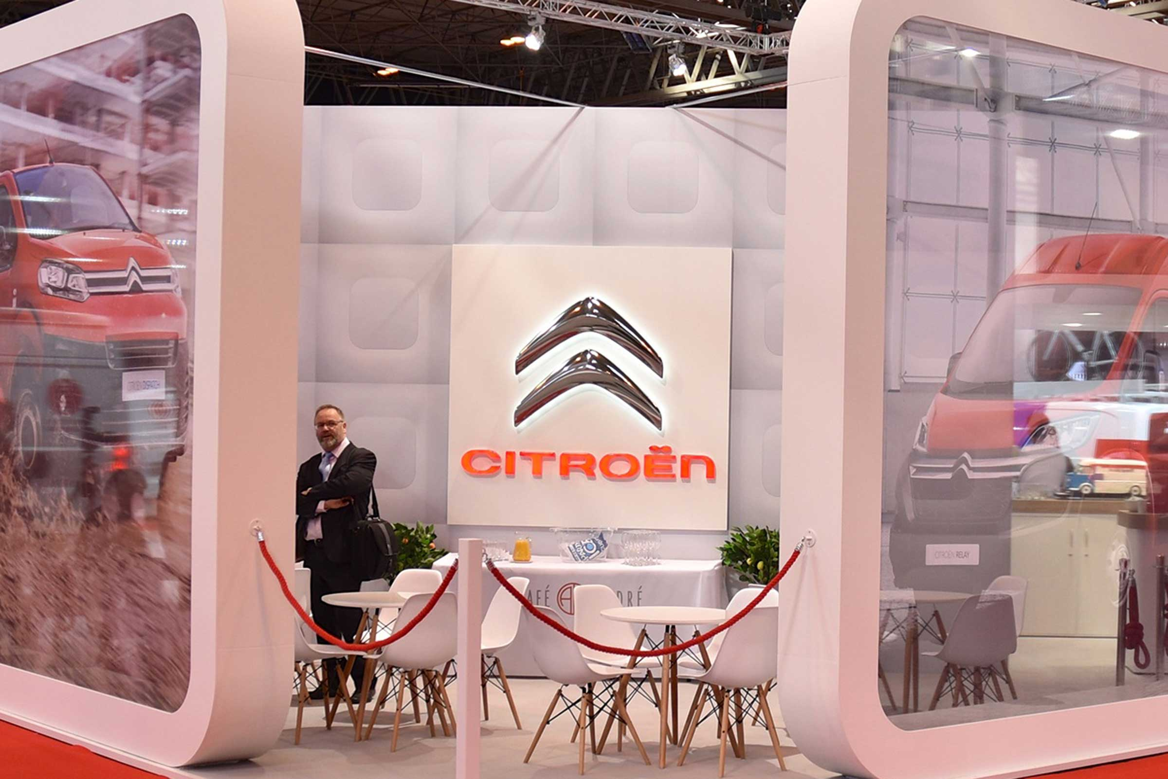 Citroen Exhibition Stand