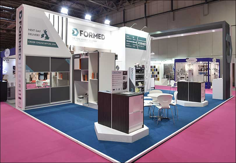 Formed Exhibition Stand