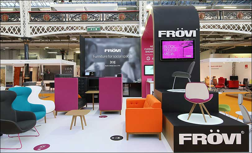 Frovi Exhibition Stand by Merit Display
