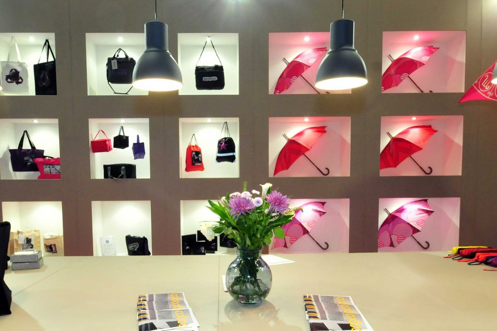 Bagco Exhibition Stand by Merit Display