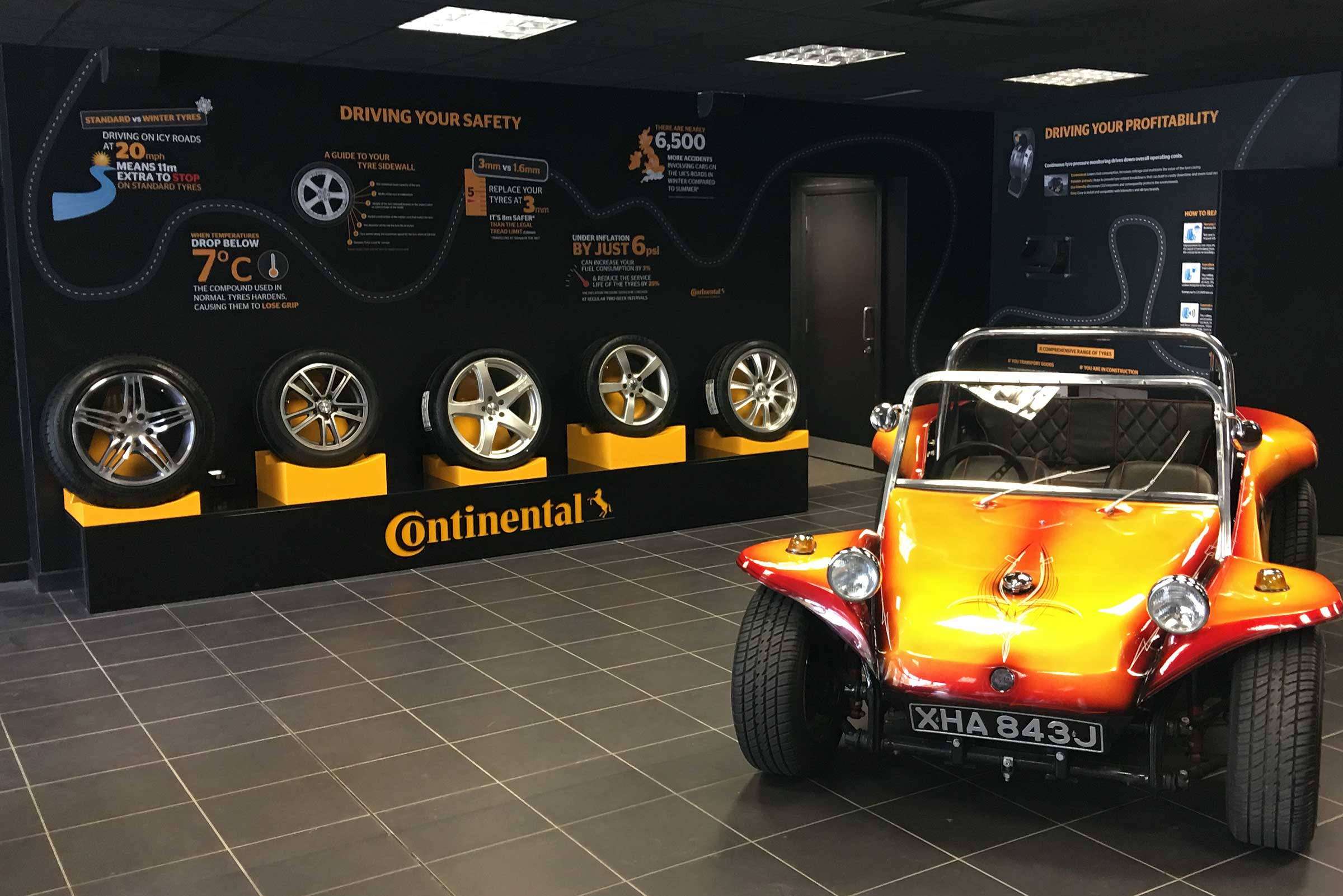 Continental Tyres Retail Display by Merit Display