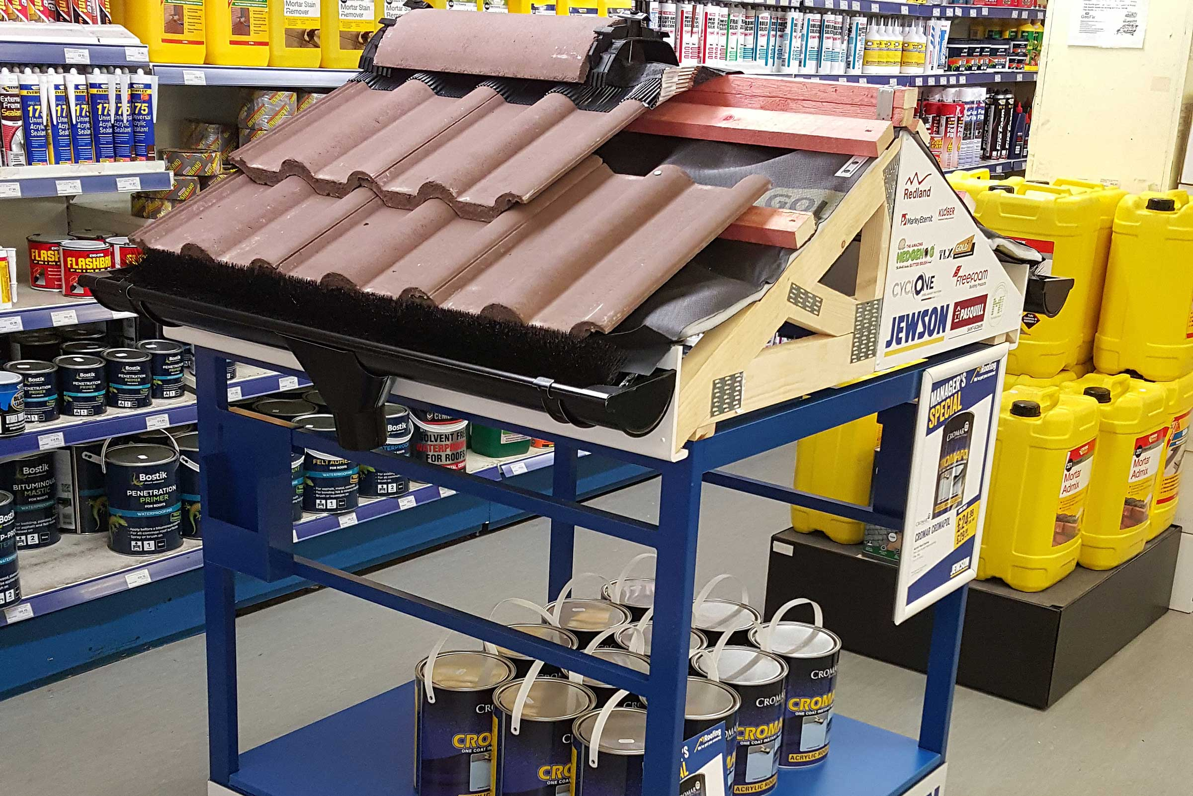 Jewson Retail Display By Merit Display