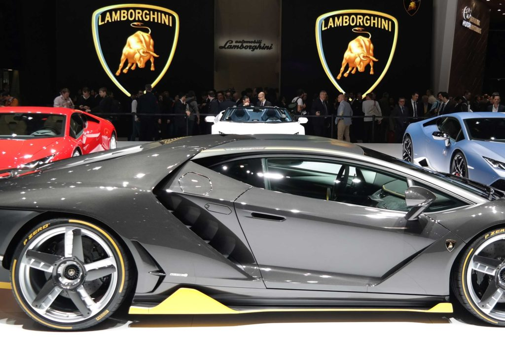 Lambourghini Exhibition Stand