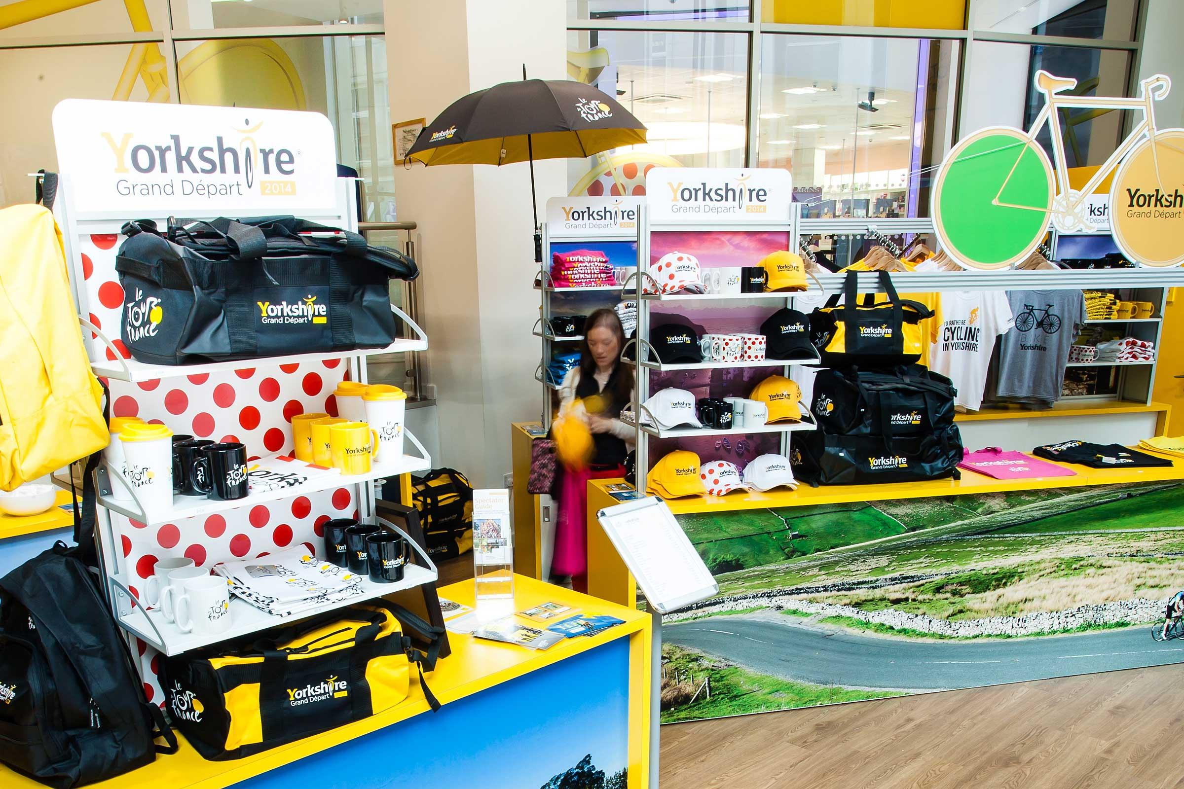 Tour De France, Yorkshire, Retail Display