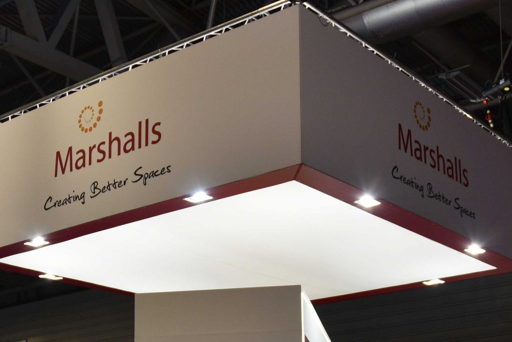 Marshalls, Creating Better Spaces, Exhibition Stand