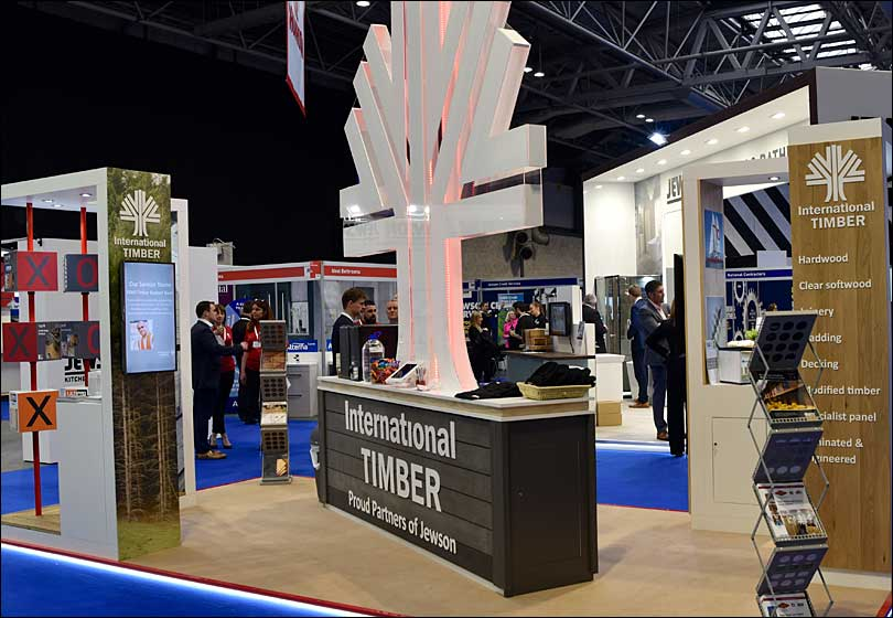 International Timber Exhibition Stand