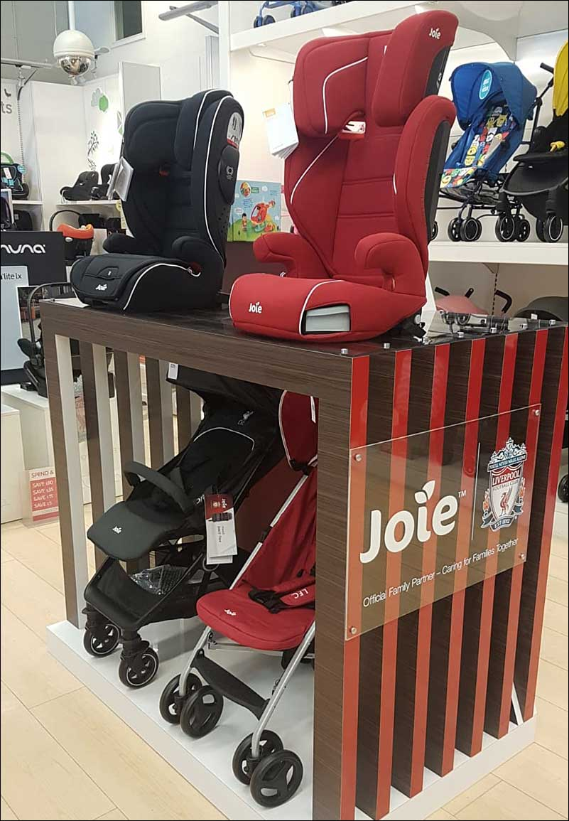 Joie Retail Display Stand