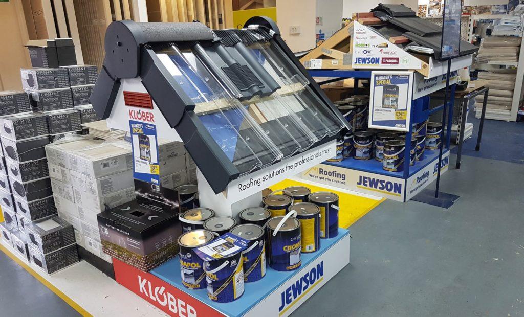 Klober Retail Display Stand