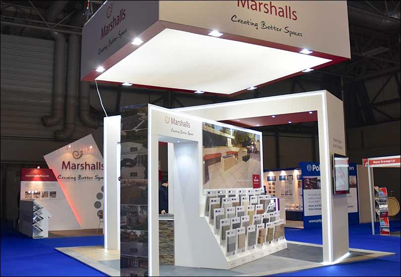 Marshalls Exhibition Stand
