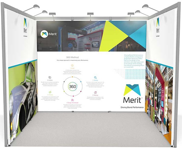 Exhibition stand for hire