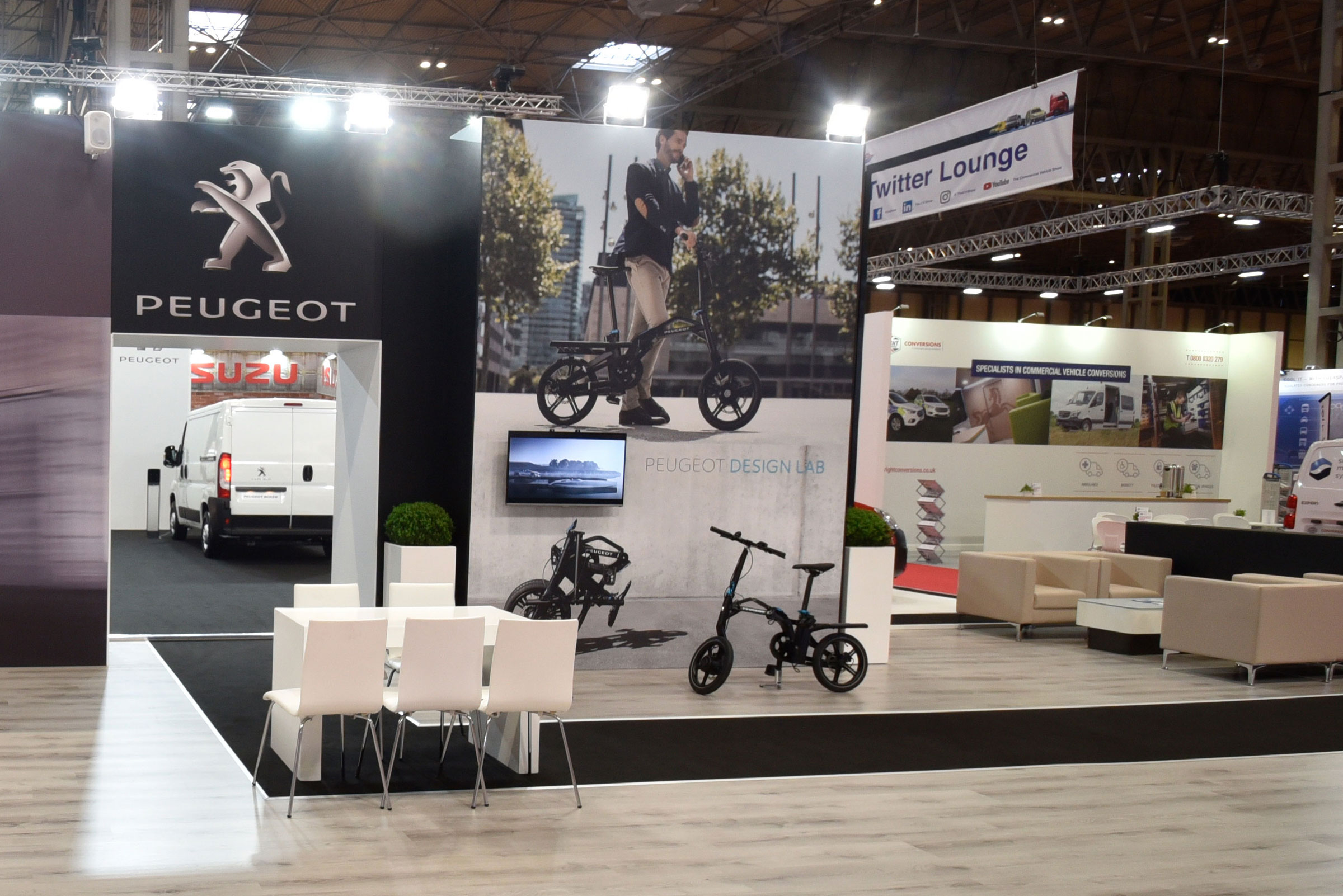Peugeot Citroen Exhibition Stand