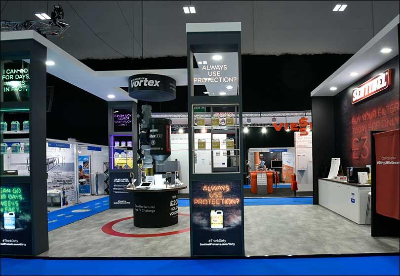 Sentinel Exhibition Stand