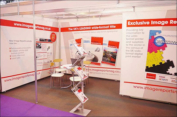 Modular exhibition stands for hire