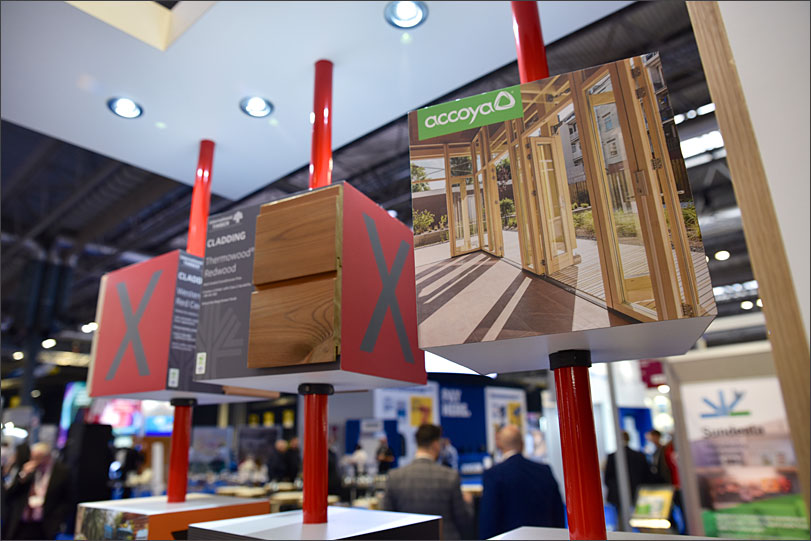 International Timber exhibition stand.