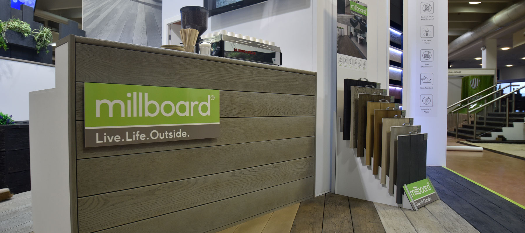 Millboard Exhibition Stand by Merit Display
