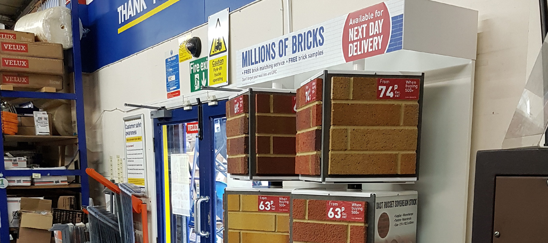 Jewson Brick Merit - Retail